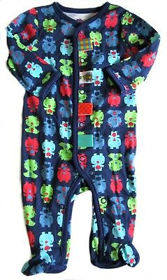 Footie Sleeper (Taggies Sleeper Footie Boys 3 Months Blue Monsters)