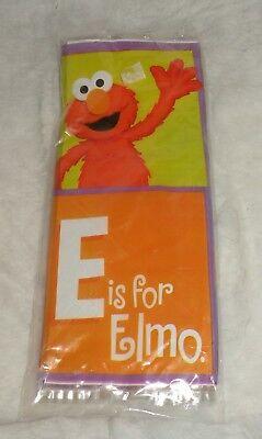 SESAME STREET Elmo & Zoe FAVOR BAGS (6) ~ Birthday Party Loot Treat - Elmo Party Bags