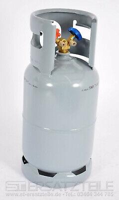 NEU Kältemittelflasche 12,5L Recyclingflasche Leer Doppelventil 1/4 R134a 48 BAR gebraucht kaufen  Sangerhausen