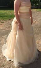 Champagne and Ivory Wedding Dress SZ14 Tanunda Barossa Area Preview