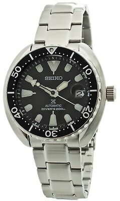 Seiko PRE-OWNED Prospex Mini Turtle SRPC35 Stainless Steel Men's Watch