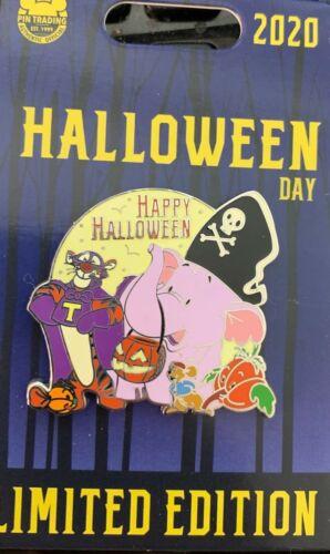 Disney Halloween Day 2020 Pooh friends Tigger Lumpy Roo LE Pin