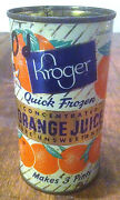 Orange Juice Tin