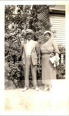 Anime Couples Black And White (Black and White Photograph - Couple in Hats - Vintage Photo,)