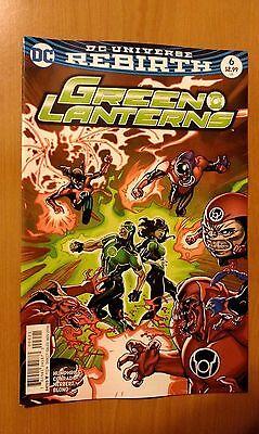 Green Lanterns # 6 DC Universe Rebirth (1st Print) Variant