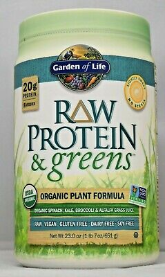 Garden of Life Raw Protein and Greens 23 oz Lightly Sweet