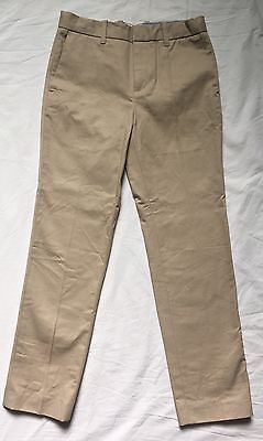 Crewcuts Boys' lightweight chino pant in stretch skinny fit Khaki 46615 Sz 7 -