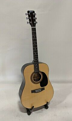 Johnson JG-620-N 620 Player Series Acoustic Guitar, Natural Johnson Acoustic Guitar
