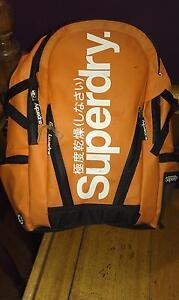 Superdry black label laptop backpack. Macgregor Belconnen Area Preview