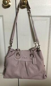 """Authentic Coach """"Ashley"""" Purse and Matching Wallet"""
