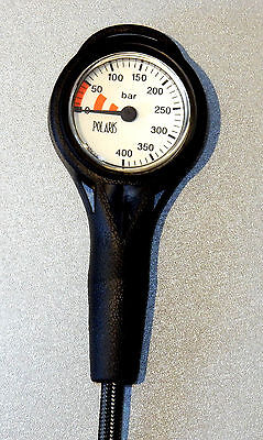 Finimeter 0-400 Bar - Slim Line SPG Polaris*** NEU: jetzt m. Miflex HD-Schlauch