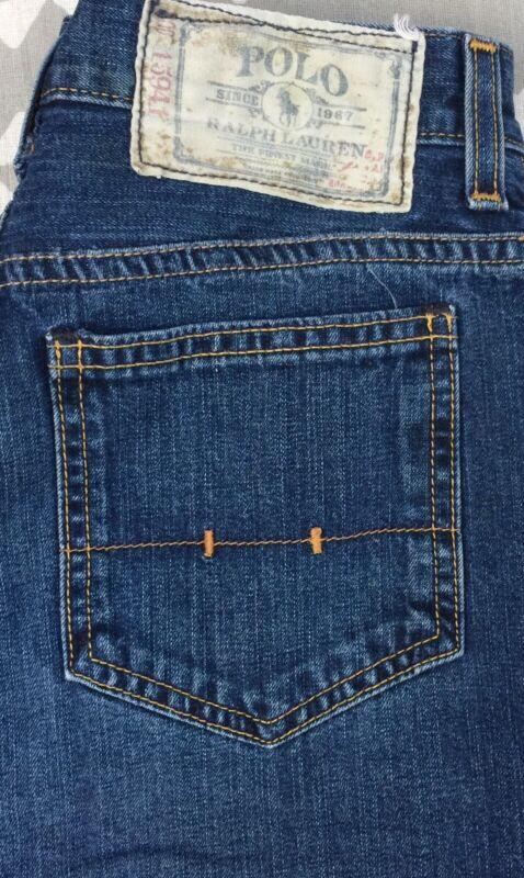 Ralph Lauren Polo Dark Wash Blue Jeans Boys Size 14