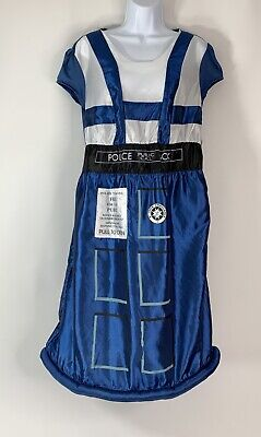 Tardis Halloween Costume (BBC Dr Who Tardis Women's size L/XL Hooped Halloween Costume Cosplay)