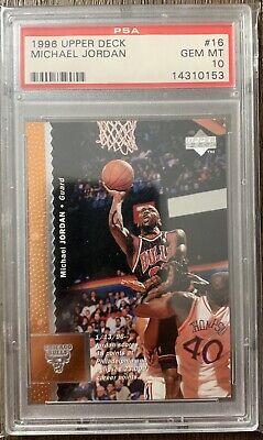 1996 Michael Jordan Upper Deck PSA 10
