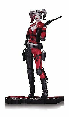 Harley Quinn Red White and Black Statue Injustice 2 DC COMICS