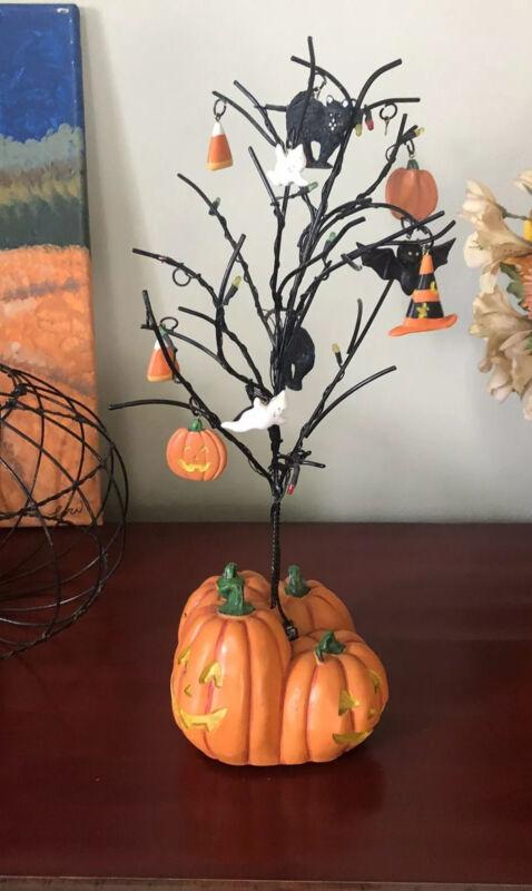 Halloween Light Up Twig Tree Decoration