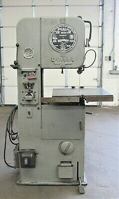 Doall Ml-16 Vertical Band Saw Id S-031