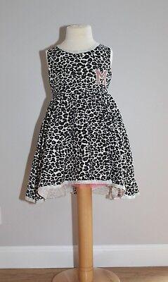 Sommerkleid Gr. 104 Mädchenkleid Tutu Kleider Kinder Ärmellos Mode für Mädchen
