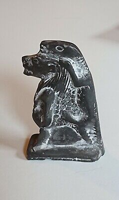 Ancient Egyptian amulet, Sobek, 300 BC.