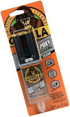 Gorilla 2 Part Epoxy 5 Minute Set .85 Ounce Syringe Clear 1 - Pack