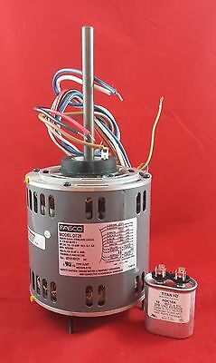 D728 Fasco 1075 Rpm Direct Drive Blower Motor 34-12-13 Hp Capacitor