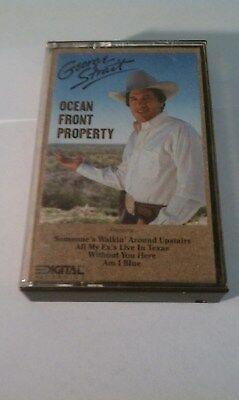 George Strait Ocean Front View Cassette Tape 1982