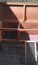 Rabbit/guinea pig hutch and feed Klemzig Port Adelaide Area Preview