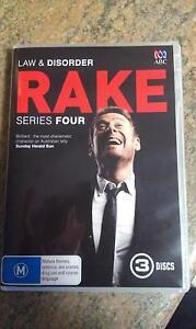 Rake - season 4. As new. Macgregor Belconnen Area Preview