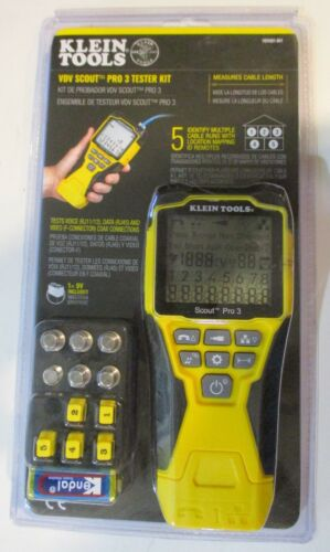 (MA3) Klein Tools Klein Tools-VDV501-851 Scout Pro 3 Tester BRAND NEW SEALED
