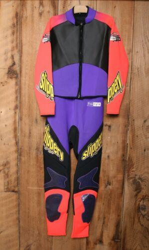 SLIPPERY WHEN WET Freestyle 2 Pc. Full Body Wet Suit w/Jacket & Bibs Sz. L/XL
