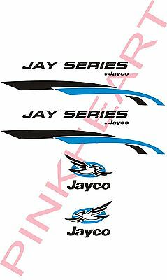 Jay Series Jayco bird Decals RV sticker decal graphic camper stickers logo kit