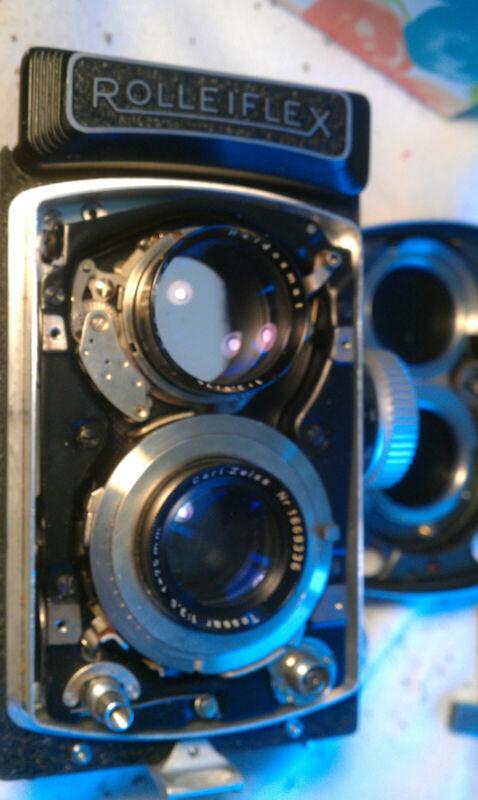 CLA service For Rolleiflex 3.5 mx TLR film cameras