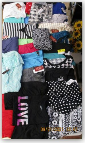 CLOTHING lot 4 for resale Swap meet flea market 100 WOMENS SHIRTS EVERYTHING NEW
