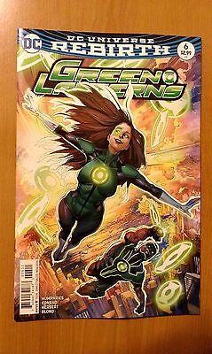 Green Lanterns # 6 DC Universe Rebirth (1st Print)