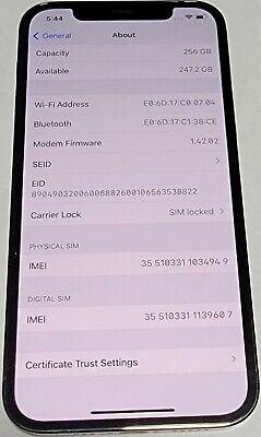 iPhone 12 Pro, Graphite, 256GB, Verizon SIM locked
