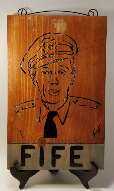 Barney Fife ~  Handcrafted Wooden Sign~Don Knotts ~ Andy Griffith Show