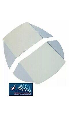 Pelton And Crane Light Shield Lfii Lfiii Dental Light Lens Cover Dci 8601