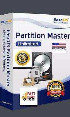 Easeus Partition Master 14.0 Pro Unlimited 2020 Lifetime Version 6232 Bit