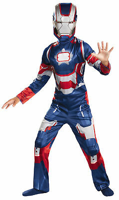 Iron Man 3 Patriot Classic Child Costume Boy Marvel Comics Movie Theme - Halloween Themed Comics