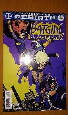 Batgirl & Birds of Prey # 1 DC Universe Rebirth (1st Print) Variant