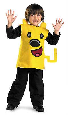 Wubbzy Classic Childs Tunic Costume Detachable Tail Halloween Disguise - Wubbzy Costume