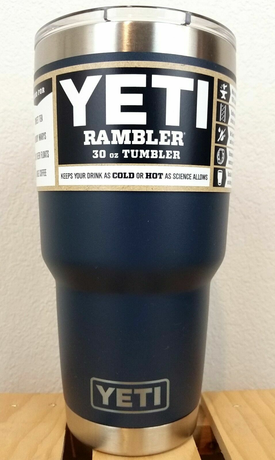 Yeti Rambler Insulated Tumbler With Magslider Lid