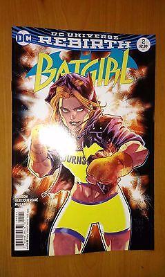 Batgirl # 2 DC Universe Rebirth (1st Print) Variant