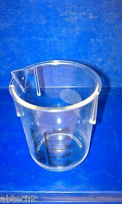 Nalge Nunc 50ml Griffin Low -Form Beakers 1203-0050 Nalgene - Case of 36 beakers