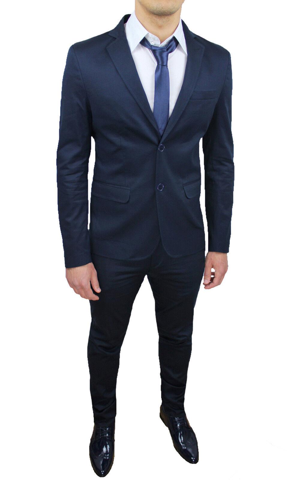 c278a783c312 abito uomo blu cotone. La tua scelta migliore di ...