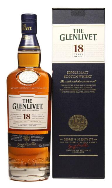 Glenlivet 18 Jahre 43% 0,7l