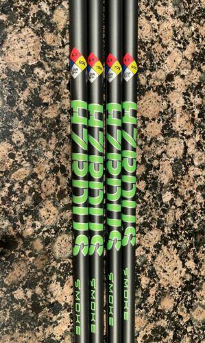 Project X HZRDUS SMOKE GREEN Driver/Fwy Shaft .335 6.0 S or 6.5 X Flex 60g + 70g