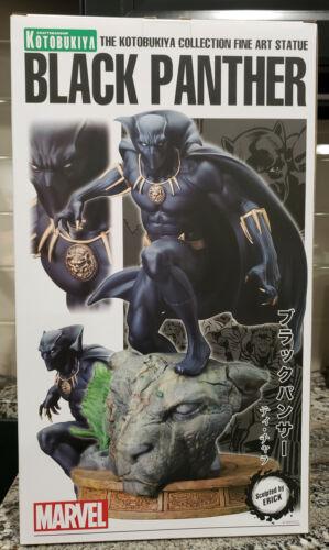 Kotobukiya Marvel BLACK PANTHER Fine Art Statue - 2310/3000 - Never displayed