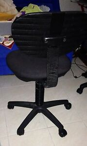 Black swivel chair Putney Ryde Area Preview