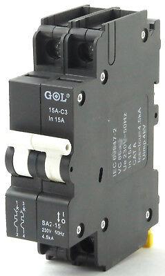 General Electric TQB2140 2 Pole 40 Amp Bolt-On 120//240 Volt Circuit Breaker